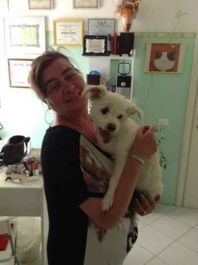 mamma di veronica con Kikka